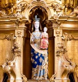 Imagem altar S.ta M.ª Pombeiro